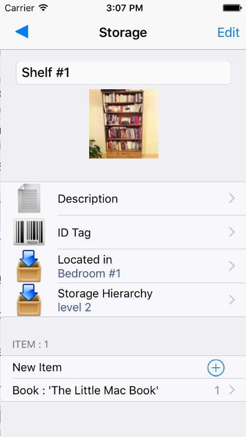 storage detailed info