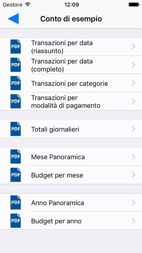reporte in PDF